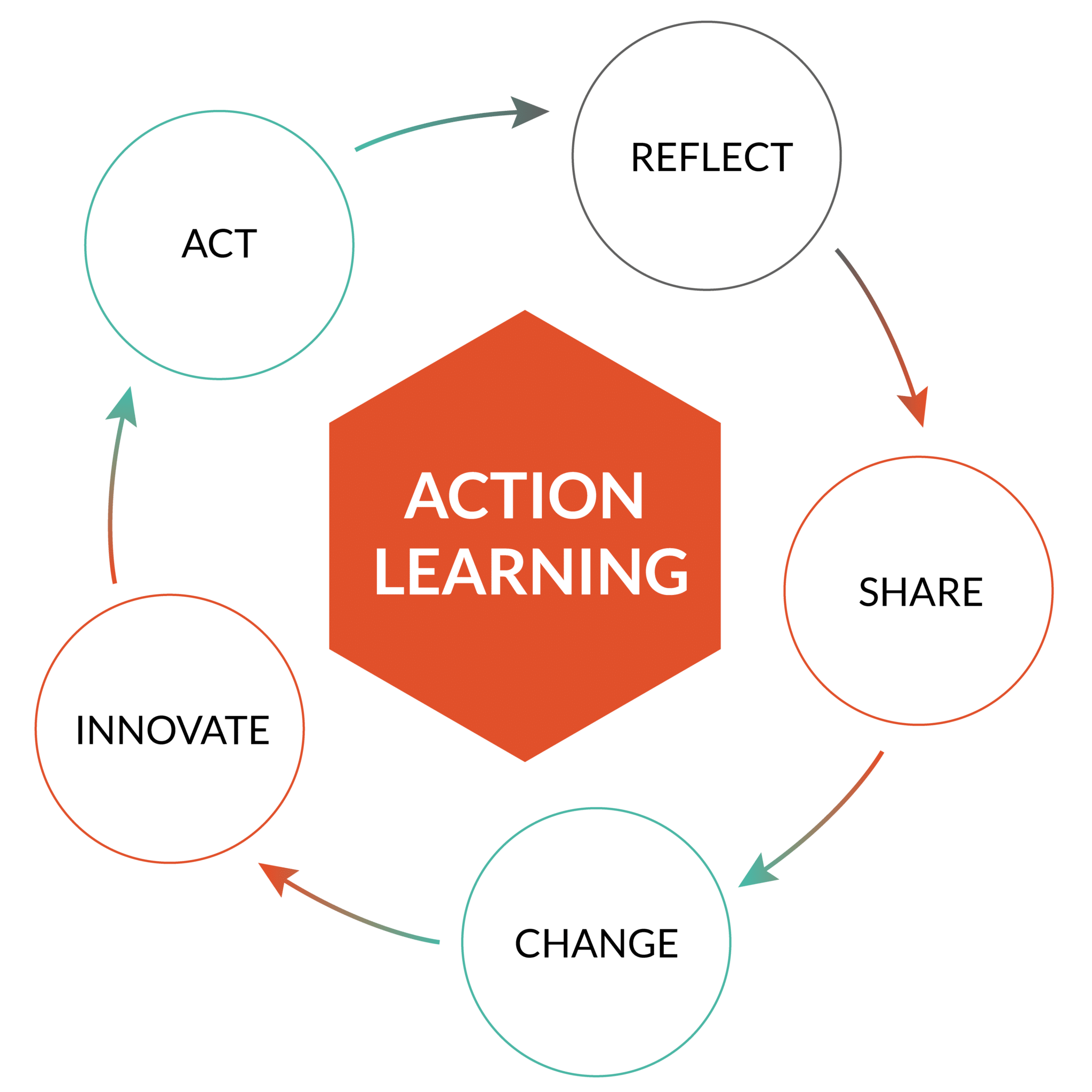 Action learning : reflect, share, change, innovate, act